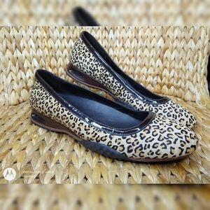 Cole Haan Cheetah Print Ballet Flats 8